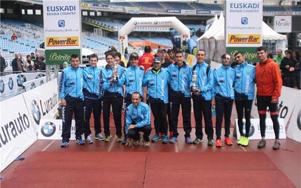 Equipo Campeón España maraton