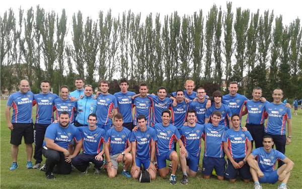 Equipo CAM división honor Burgos
